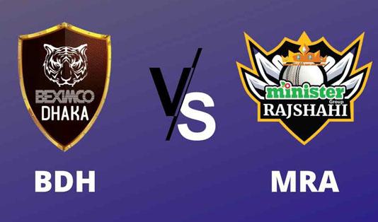 Dhaka, Rajshahi eying winning start in Bangabandhu T20 Cup