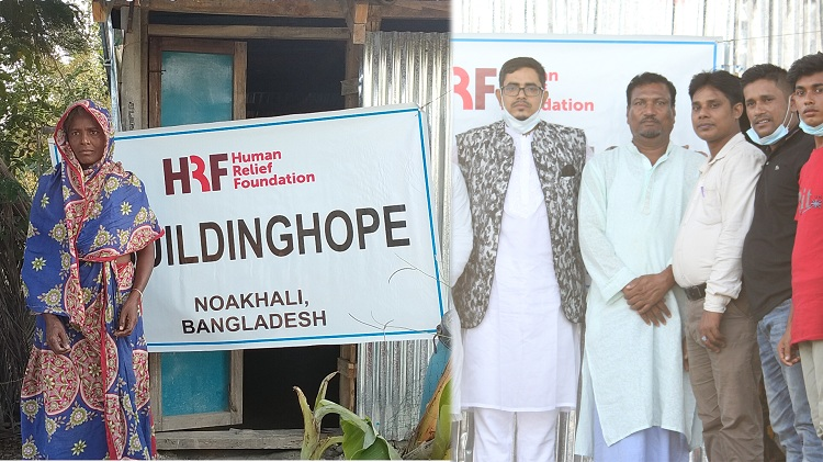 4 families get houses in Noakhali
