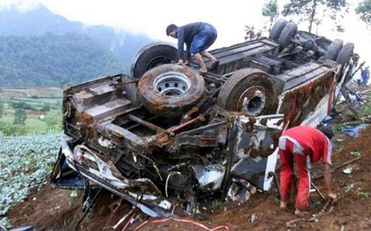 17 dead in truck crash in Nicaragua