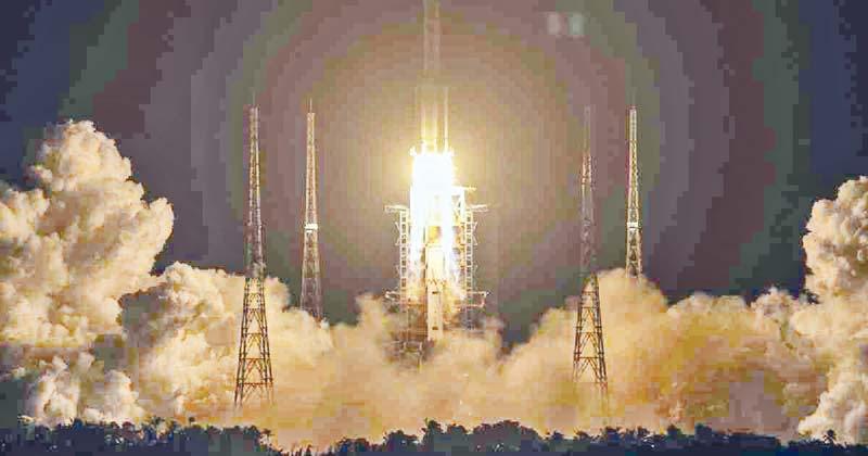 China launches moon probe to retrieve lunar rocks