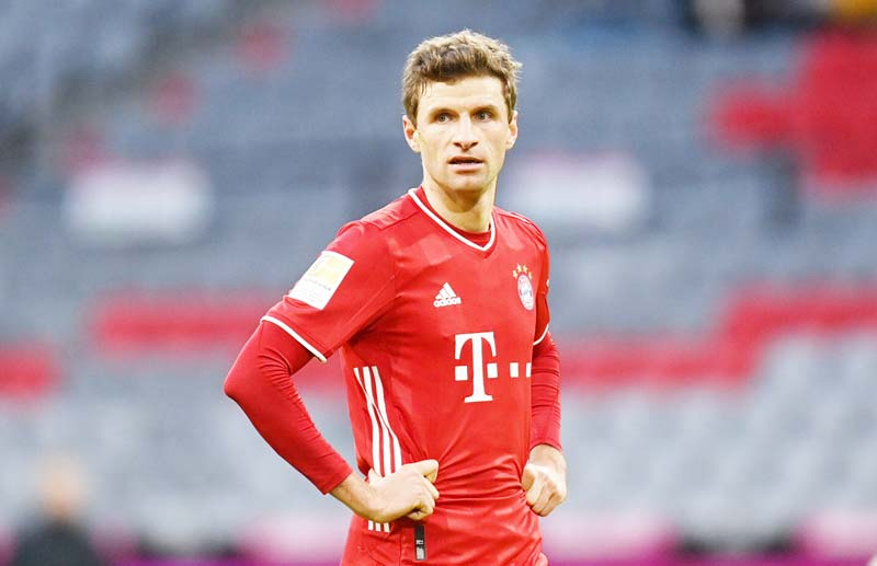 Mueller focuses on Bayern despite national side recall