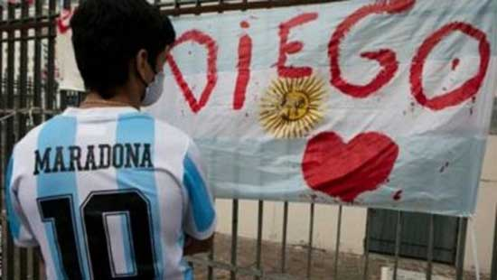 3-day mourning begin in Argentina as tributes pour for Maradona