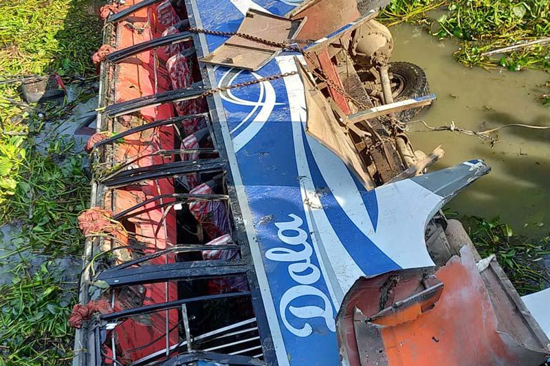 4 killed in Gopalganj bus accident