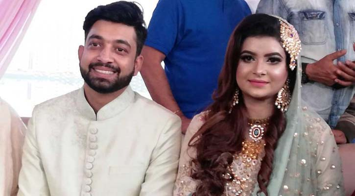 Actress Faria splits with husband Opu