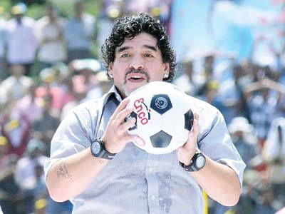 Maradona-magic, mania, madness to memories
