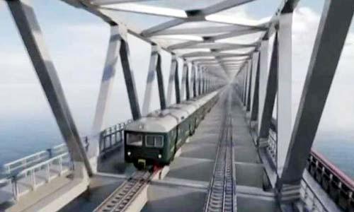 PM Hasina lays foundation-stone of Bangabandhu Rail Bridge