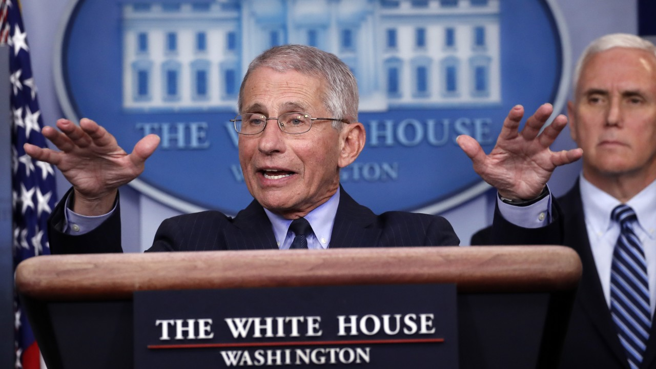 US may see 'surge upon surge' of virus in weeks ahead: Fauci