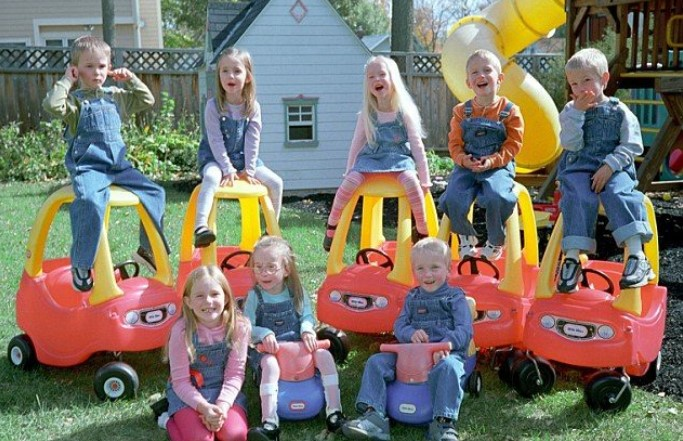 First surviving septuplets– Where are they 20 years later?