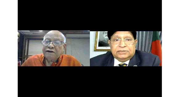 Muhith talks about life, legacy of Bangabandhu