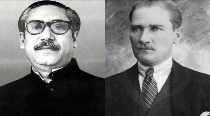 Bangabandhu's statue to be built in Ankara, Kamal Ataturk's in Dhaka
