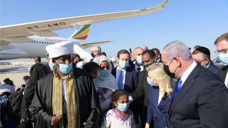 Ethiopian Jews flown to Israel in latest operation