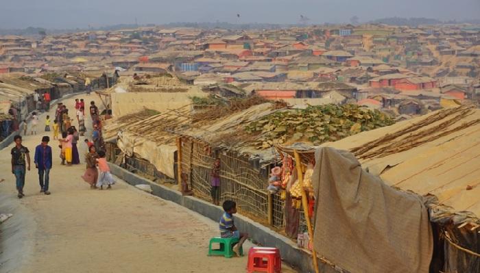Ukhiya Camp in Cox's Bazar