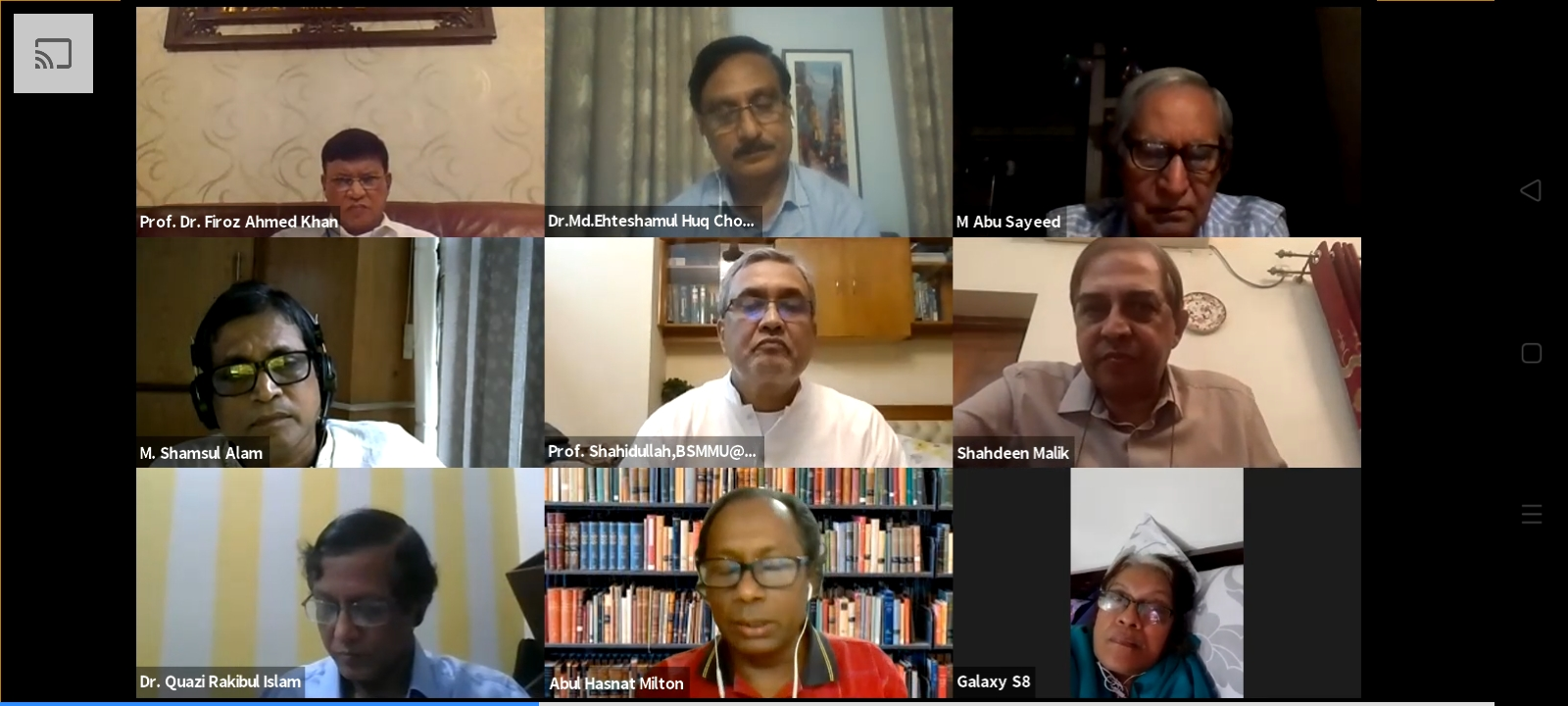 Select health minister from doctors, say speakers at DHE webinar