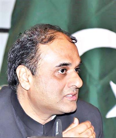 Pakistan High Commissioner to Bangladesh, Imran Ahmed Siddiqui