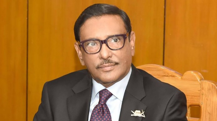 Quader urges BNP not to spread confusions over COVID-19 vaccine