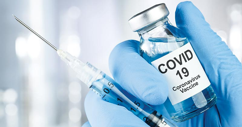 Securing C-19 vaccine to move from new normal to new future