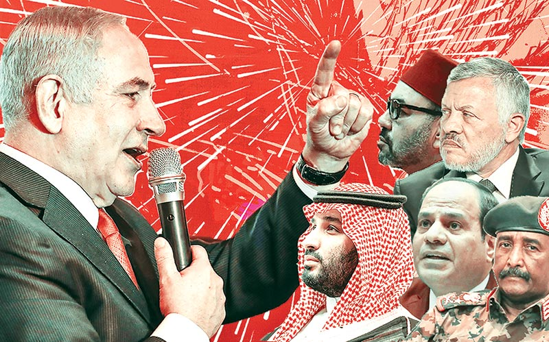 Israel plays 'quid pro quo' game with Arab countries
