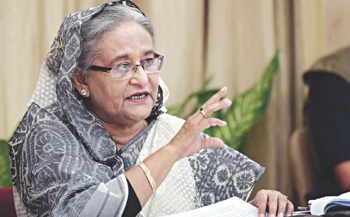 Prime Minister Sheikh Hasina [FILE PHOTO]