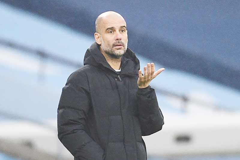 ManC boss Guardiola confused by football's virus rules