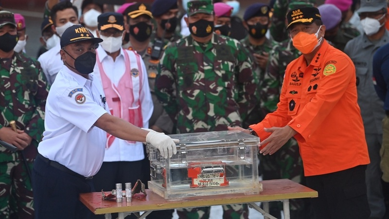 Indonesia locates black box from crashed plane