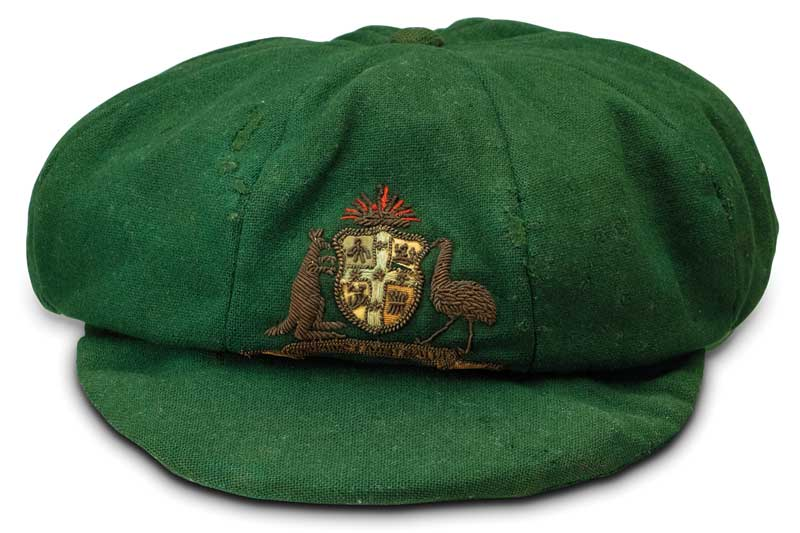 Sir Don Bradman's Baggy Green cap to visit leading cricket countries