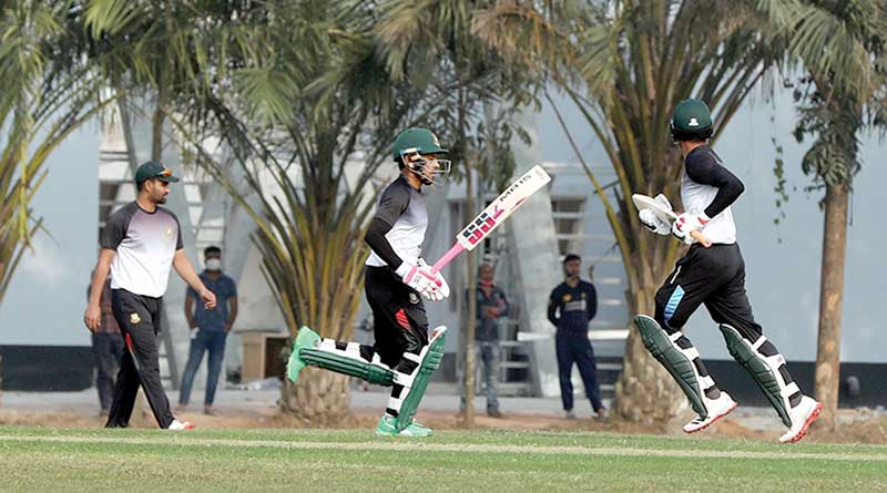 Hasan Mahmud shines in Tigers' first warm-up game