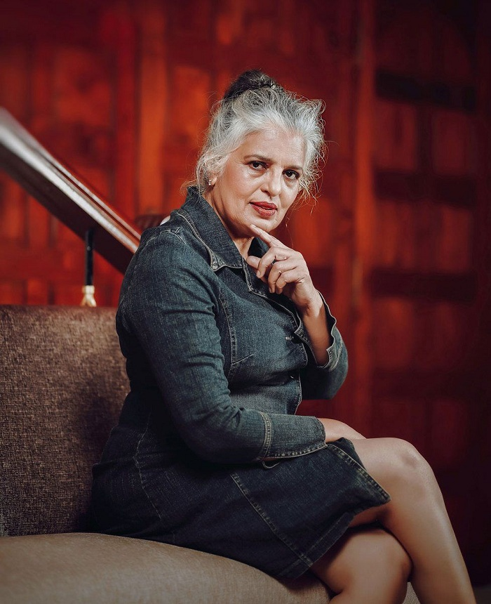 Rajini Chandy says the photoshoot was meant to be fun. Photo: BBC