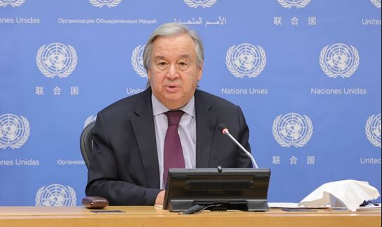 UN chief calls for global coordinated effort to end pandemic