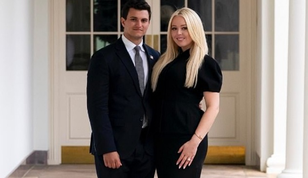 Trump's daughter Tiffany announces engagement with billionaire heir boyfriend Michael Boulos. Image Source : TIFFANY TRUMP/INSTAGRAM