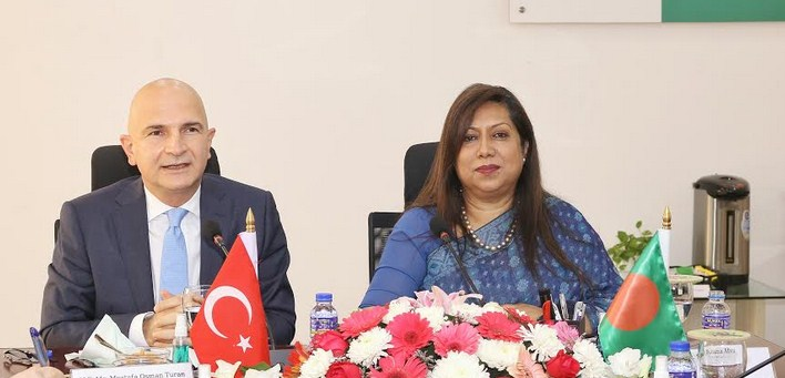 Turkey ambassador meets PPP Authority CEO