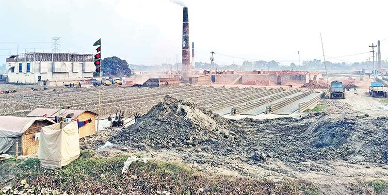 Brick kilns destroy 3,000 bighas of land in Narayanganj