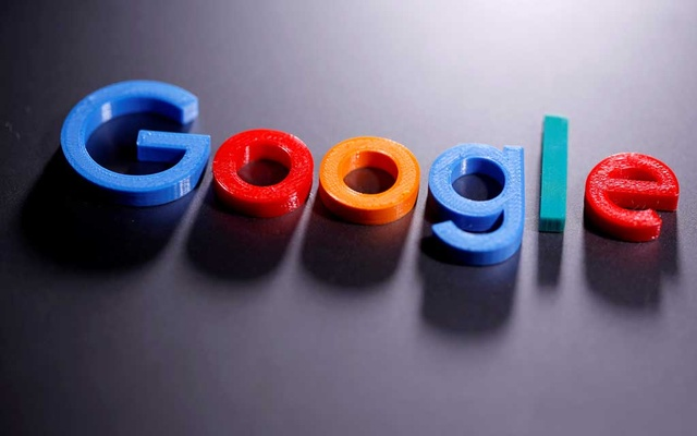 A 3D printed Google logo is seen in this illustration taken April 12, 2020. Photo: Reuters