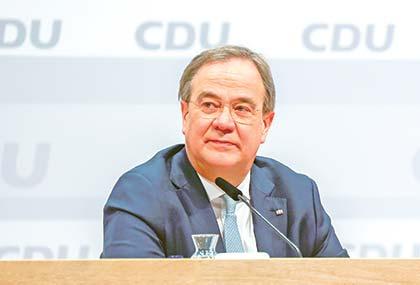 Merkel's CDU party got the successor?
