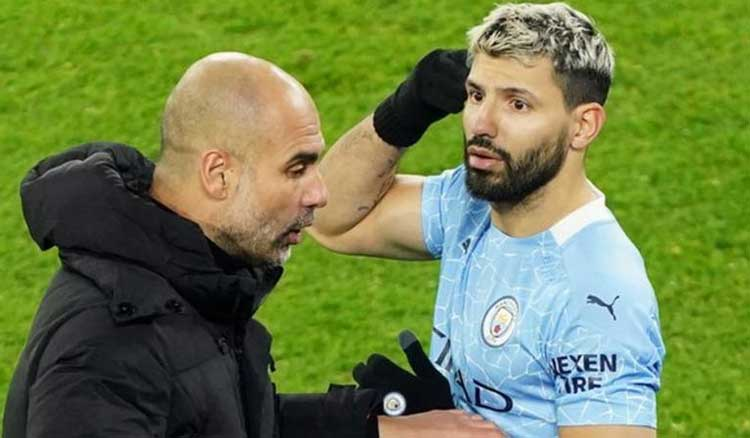 Sergio Aguero has only played 31 minutes since 24 October -getty images