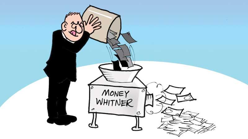 Whitening black money, how long?
