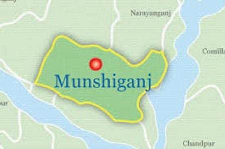 Two killed in Munshiganj road mishap