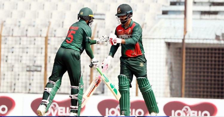Bangladesh set 298-run target for West Indies