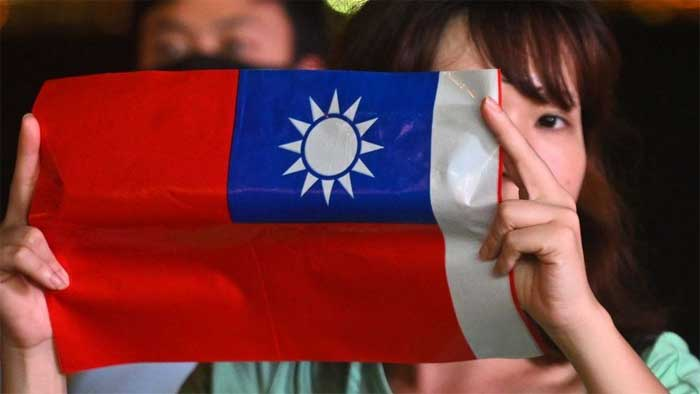 China sees Taiwan as a breakaway province - getty images