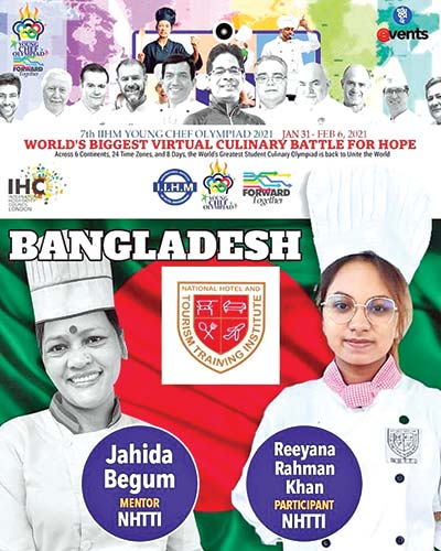 Bangladesh wins the Int'l Young Chef Olympiad