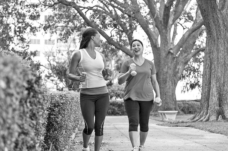 Women's health resolution in their 40s and 50s