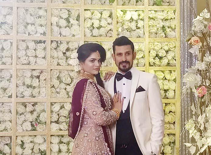 Nasir holds lavish wedding reception amid controversy