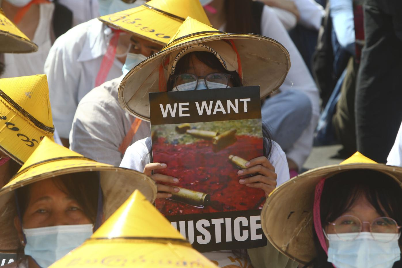 Protests swell after Myanmar junta raises specter of force