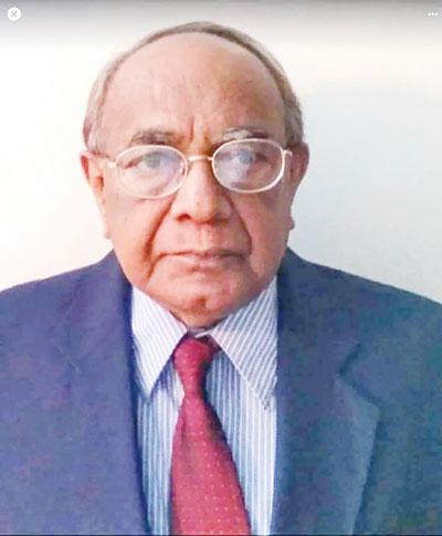 DIU VC Prof Mohsin dies