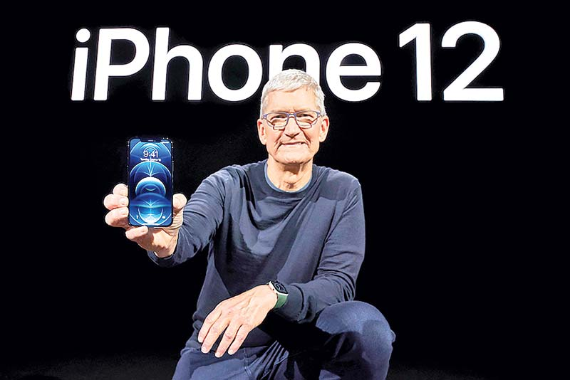 iPhone 12 sales propel Apple to top of smartphone market: survey