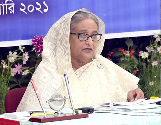 Don't forget COVID protocol after vaccination: PM Hasina