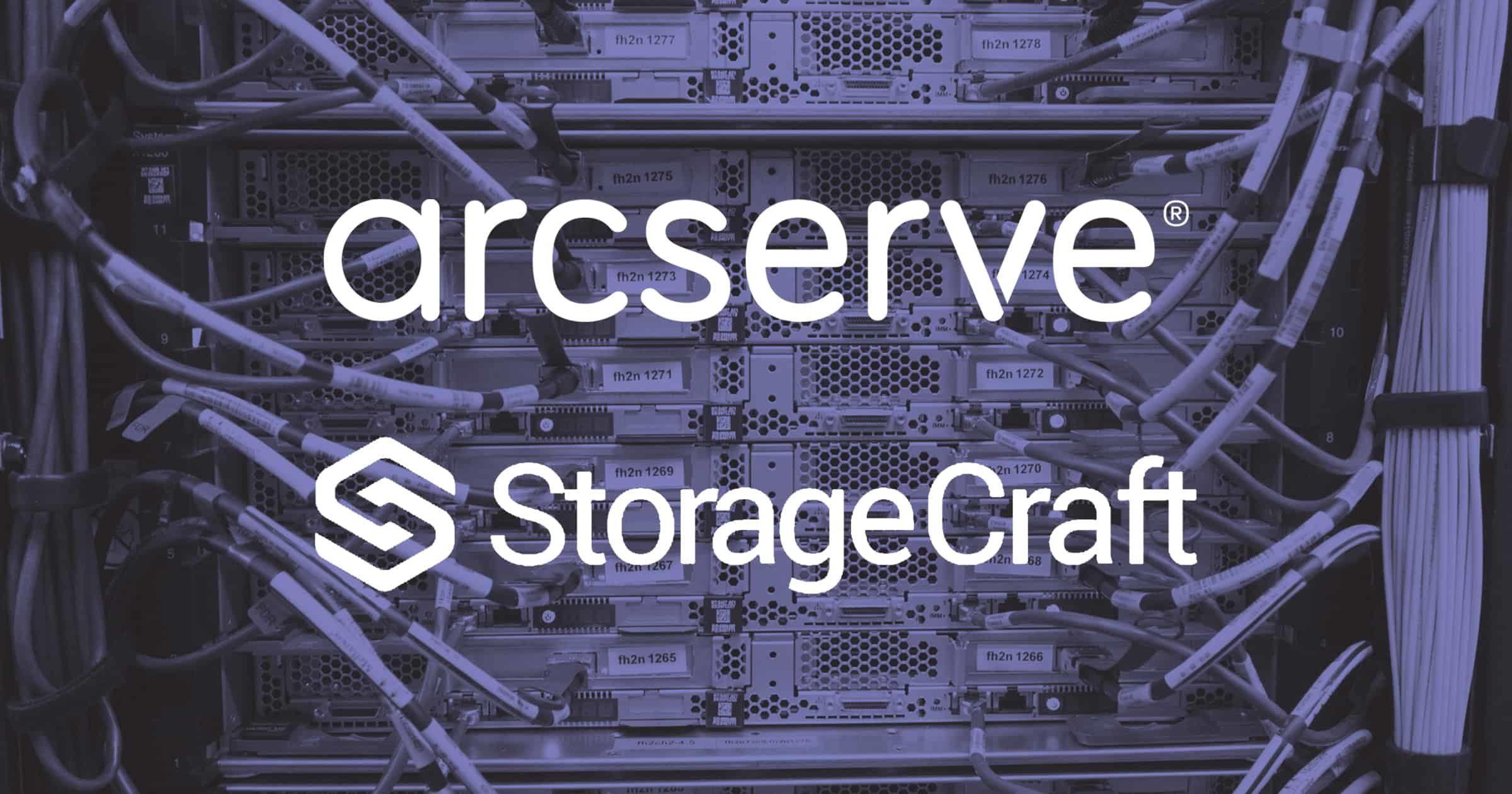 Arcserve and StorageCraft to merge