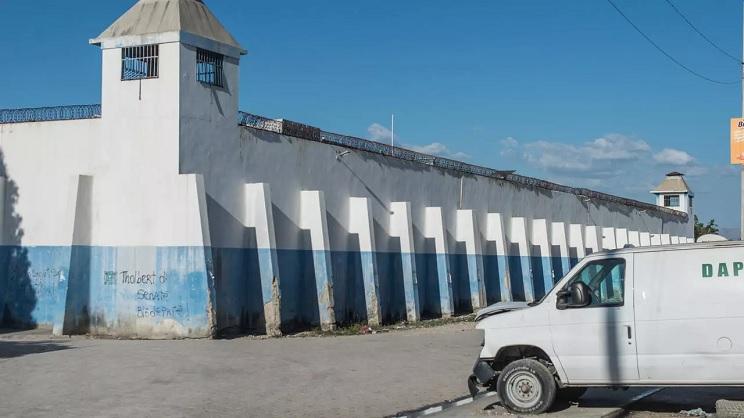 Haiti's Croix-des-Bouquets prison from where 400 inmates escaped Reginald LOUISSAINT JR AFP