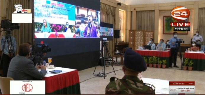 PM addresses media