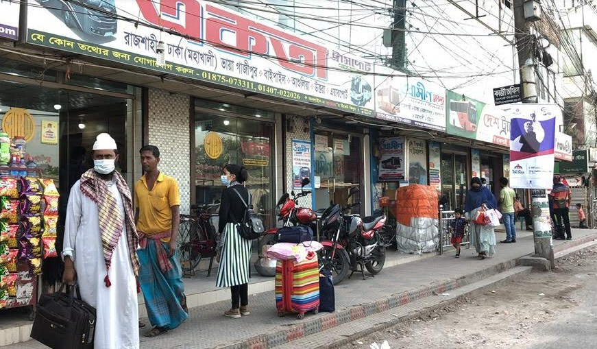 Bus services suspended in Rajshahi, people face sufferings