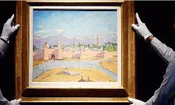 Jolie sells Churchill painting for record £7m
